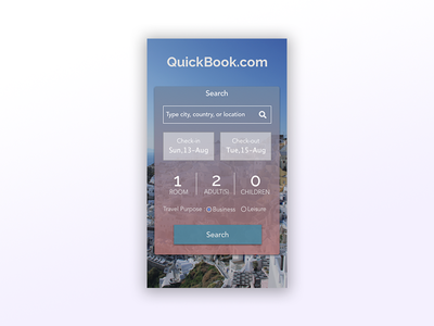 Daily UI #067: Hotel Booking