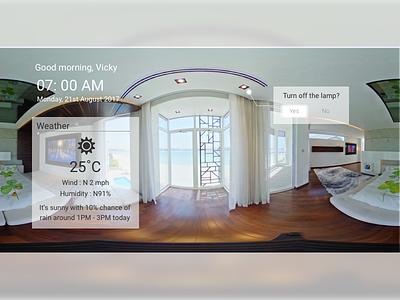 Daily UI #073 : Virtual Reality vr virtualreality ui ux daily ui