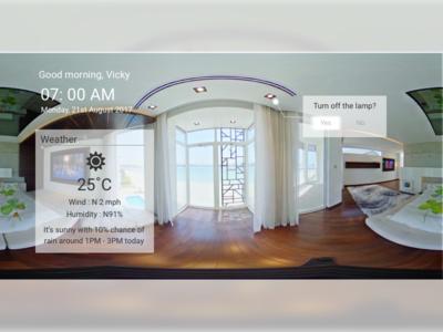 Daily UI #073 : Virtual Reality