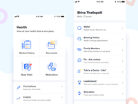 Health app new design