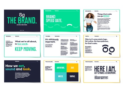 AutoGuru Styleguide startup clean brand manual styleguide branding brand design
