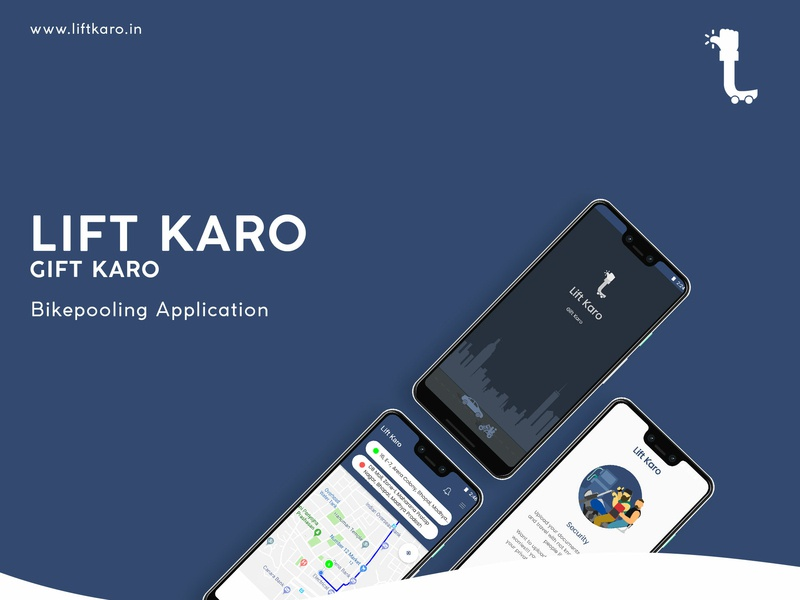 Bikepool Android App - Lift Karo bike ride uidesign xd android app android