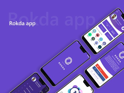 Quiz App - Rokda | UI/UX & Development quiz app android adobe illustrator adobe xd