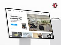 E Commerce for Home Website UI/UX