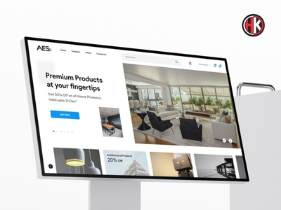 E Commerce for Home Website UI/UX ux design ui adobe xd