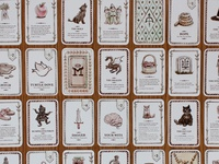 Grimm's Forest Playing Cards Detail