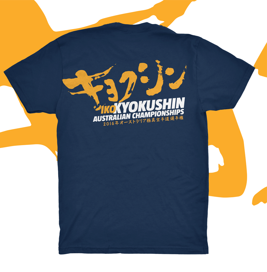 Kyokushin karate champs tshirt full