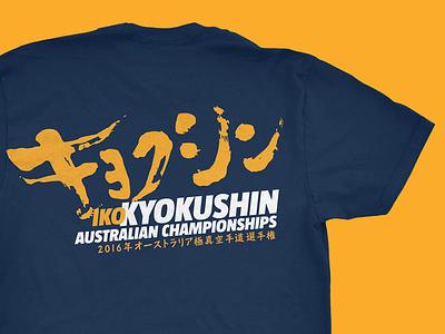 Kyokushin Karate Champs Tshirt