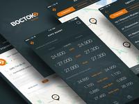 Vostok Bank App Design