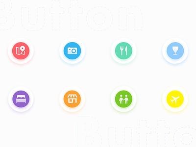 Buttons btn fluent iphone ios app web button interface user ux ui