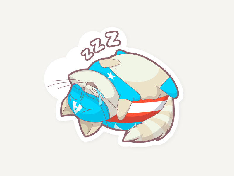 6 sleep dribbble