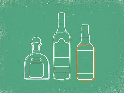 Holiday Bottles jack daniels patron bacardi liquor