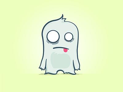 Tired Monster  illustration creature monster