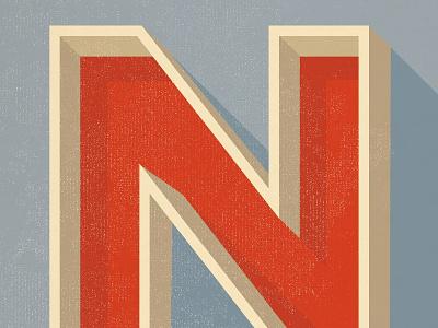 N  n custom letter