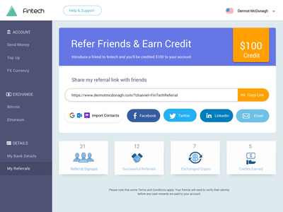 FinTech Referral Program website web design ux design user interface user experience ui  ux design ui signup russian responsive design referrals referral localisation fintech financial design crypto chinese banking