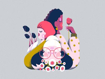2021 - Women's day illustration womensday feminine women minimal vector colorful 2d affinitydesigner art flat pastels design illustration
