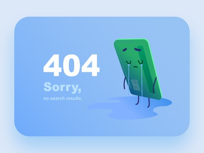 404 Illustration for a banking website character affinitydesigner ui pastels vectors flat art cute illustration design
