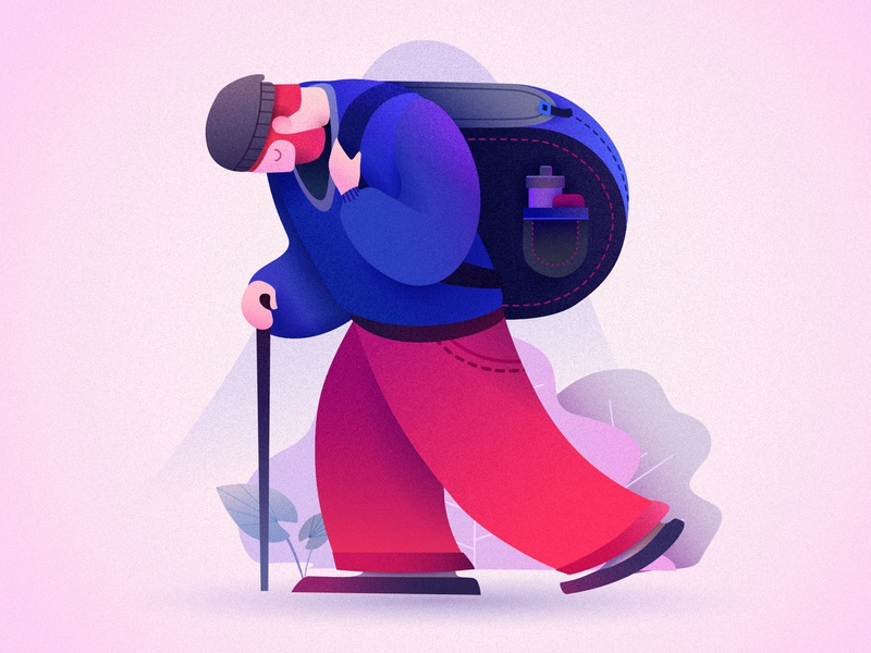 36 days of type - day 18 - letter R character 36daysoftype letter 36 days of type typography minimal cute 2d vector colorful art affinitydesigner flat pastels design illustration