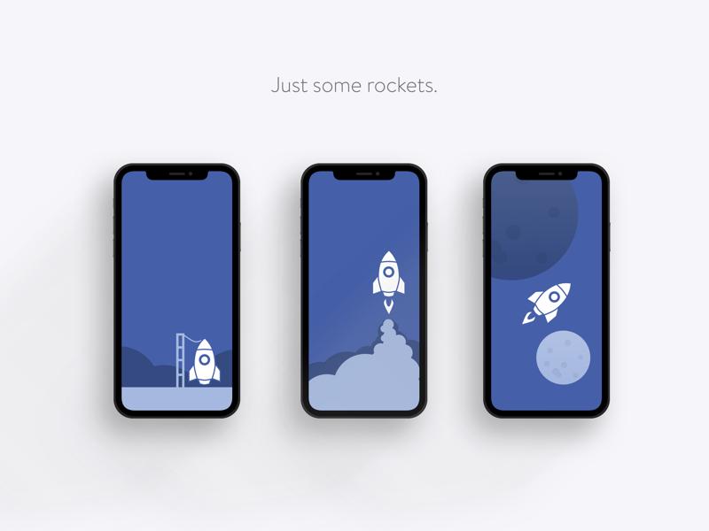 Rockets Iphonex apple iphone iphonex planet moon space rocket