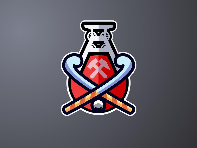 SteigerCup coat of arms mining mine ruhrgebiet tournament logo fieldhockey