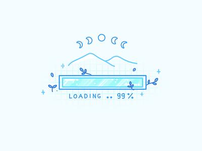 Loading Bar web design loading page loading bar bar loading ui