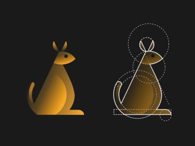 19 - Kangaroo Logo