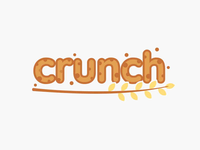 21 - Granola Company logo logo concept branding logotype crunch crunch logo dailylogochallenge granola logo food company wheat logo wheat