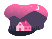 Pink Cabin