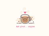 But first.. coffee