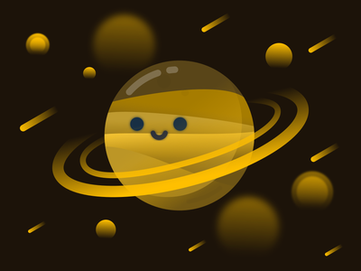 Saturn saturn space illustration planet