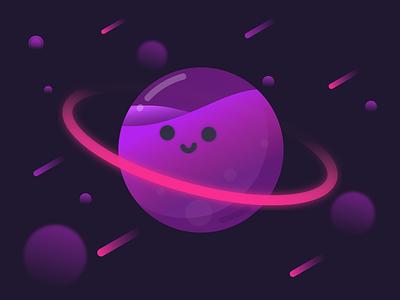 Neptune illustration neptune space planet