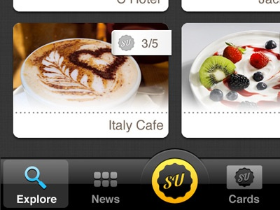 Stamp Up iphone ui stampup
