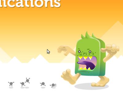 Foak Productions Limited css3 html5 monster foak web design