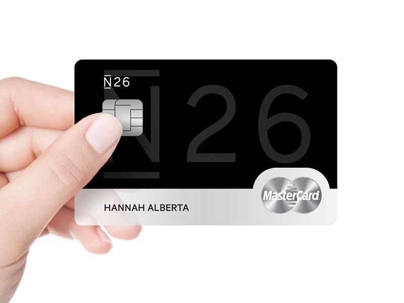 N26 Black Mastercard by Taryn Niesena - Dribbble
