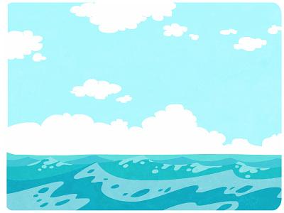 Ocean sea water ocean
