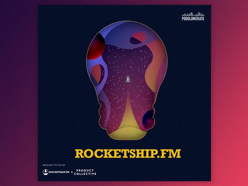 Rocketship.fm Cover Concept