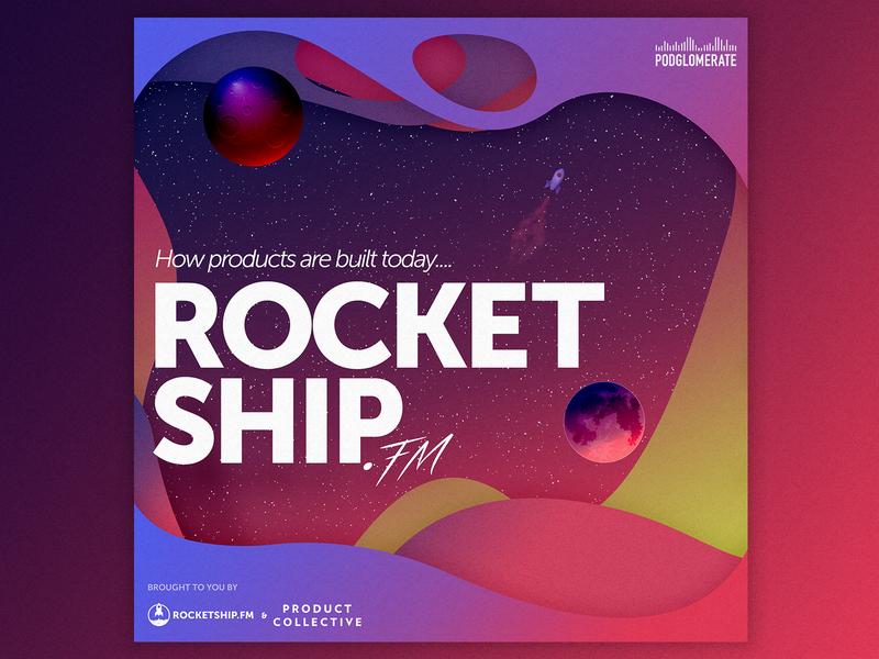 Rocketship Podcast Cover Concept