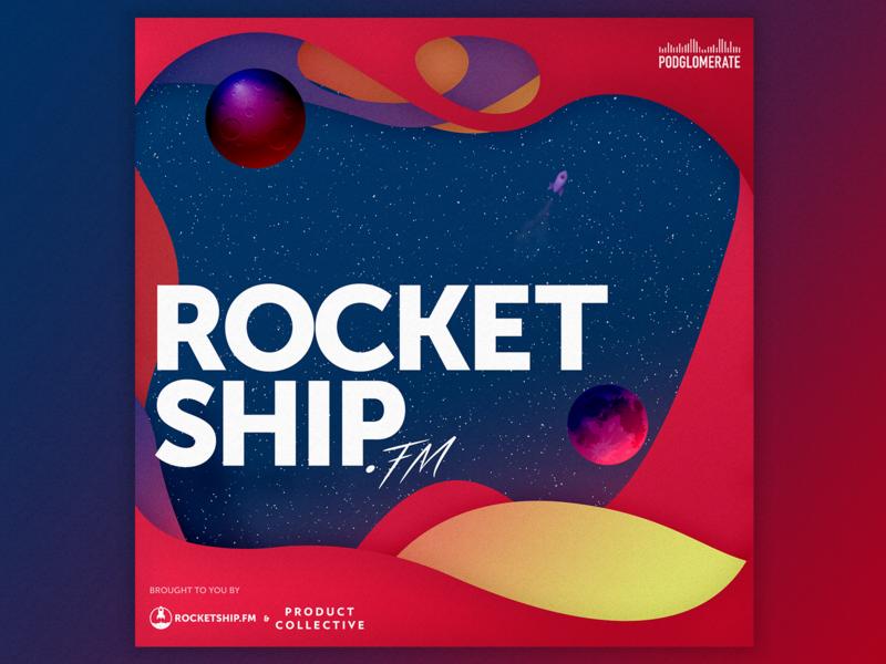 Rocketship.fm Season 9 Podcast Cover podcasts podcast logo illustraion album art album cover cover artwork cover design cover art podcast art podcast