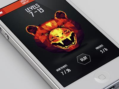 iOS Level Select (iPhone5 UX/UI)