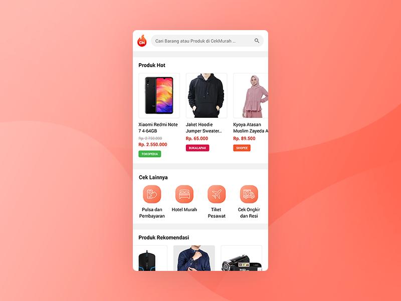 Price Comparison App Concept concept uidesign ux ui app
