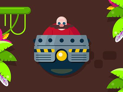 Doctor Ivo character game design videogame sega sonic eggman doctor ivo