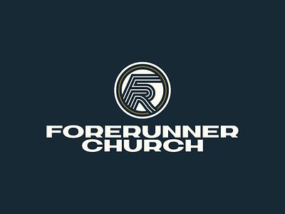 Forerunner Lockup icon typography vector logo lettering flat 2d illustration design branding