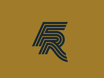 Expanded Monogram monogram logotype typography vector 2d logo lettering flat illustration design branding