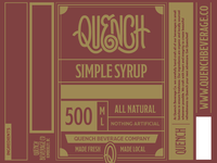 Quench Simple Syrup