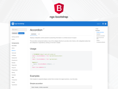 ngx bootstrap 2.0.0-rc.0