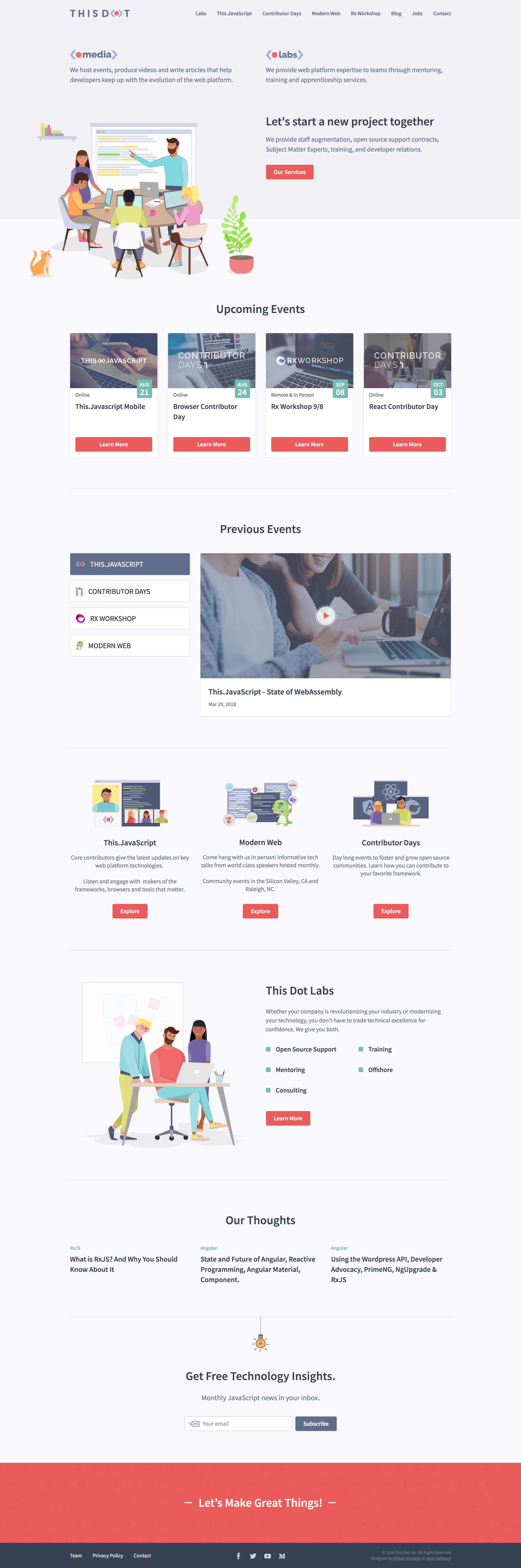 Thisdot homepage
