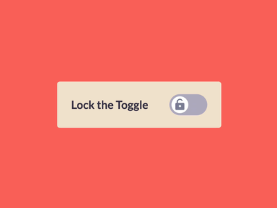 Micro-animation for Toggle Switch. Webflow + Lottie