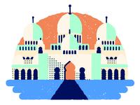Etihad Airways spot illustration