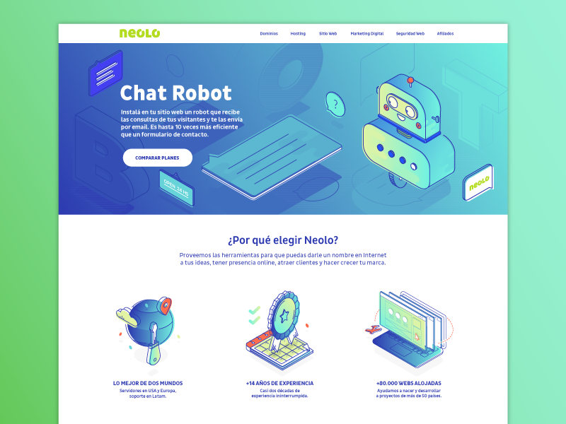 Cute chatbot