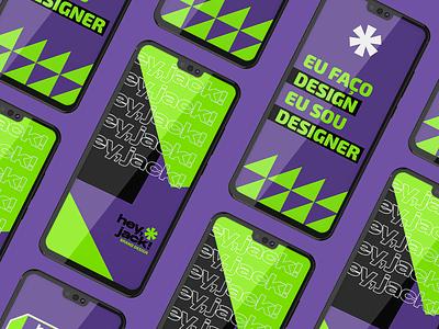 Hey Jack - Brand Design vector logo design branding